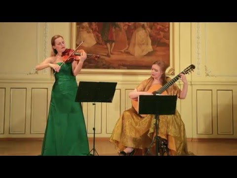 Duo  Luminoso: Paganini - Cantabile