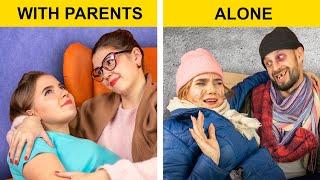 Sống Với Ba Mẹ Vs Sống Một Mình