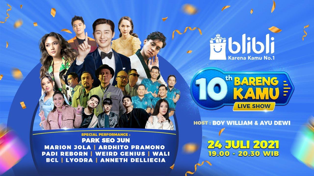 """TV SHOW!!! Blibli """"10th Bareng Kamu"""""""