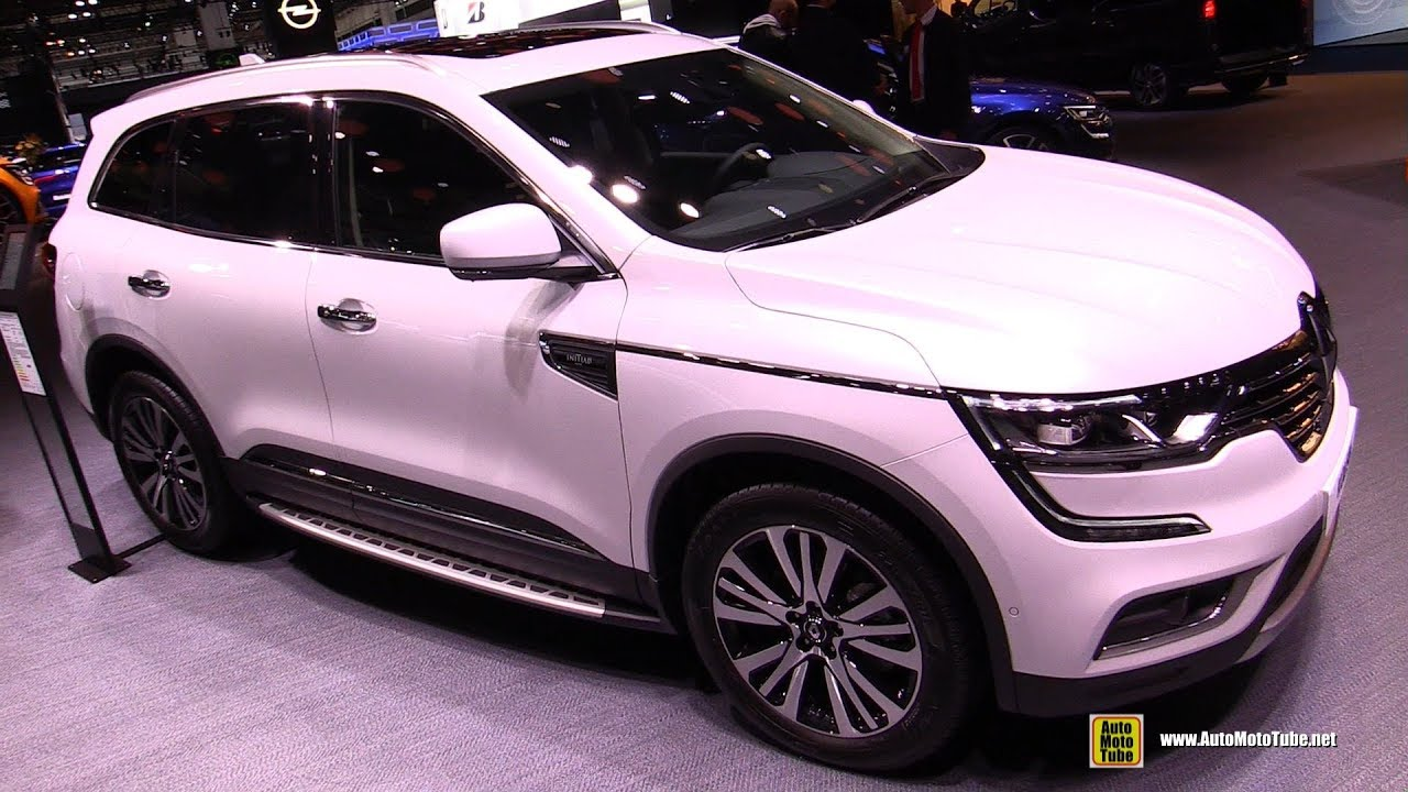 2018 renault koleos exterior and interior walkaround 2017 frankfurt auto show youtube. Black Bedroom Furniture Sets. Home Design Ideas
