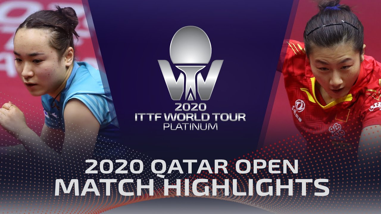 Download Mima Ito vs Ding Ning | 2020 ITTF Qatar Open Highlights (1/2)
