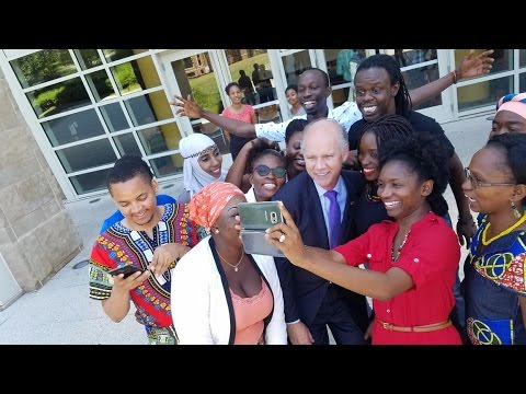 NY1: Staten Island Congressman Welcomes Students from Africa