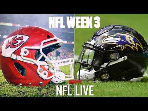 NFL Live Predicts Winners For 2019 Week 3 Matchups   NFL Live