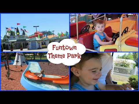 FUNTOWN USA || Maine Theme Park