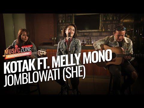 Download  Kotak ft. Melly Mono - Jomblowati - Live at  ZONE Gratis, download lagu terbaru