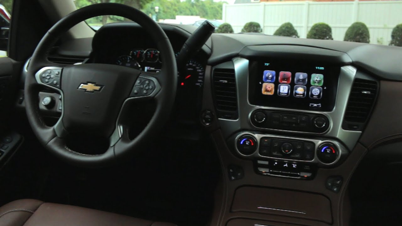 Elegant 2015 Chevrolet Tahoe Interior Review