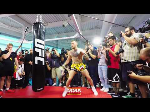 Conor McGregor Workout Highlights From Photographer Esther Lin's Point of View - MMA Fighting