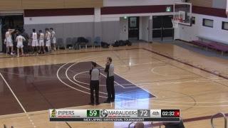 Varsity Boys Basketball - John Taylor Pipers vs Maples Marauders - NLIT - February 15, 2019