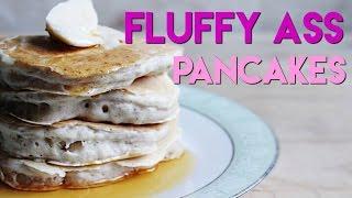 6 Ingredient Fluffy Vegan Pancakes