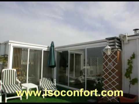 Cerramientos en ticos y terrazas isoconfort youtube - Cerramientos de terrazas de aticos ...