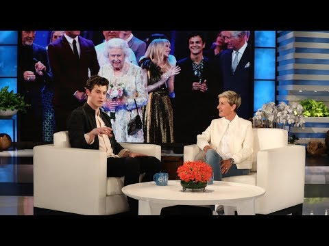 Shawn Mendes' Awkward Moments with British Royals