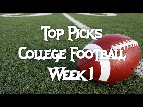 College Football Week 1 Picks | College Football Fantasy Strategy | DailyFantasyWinners