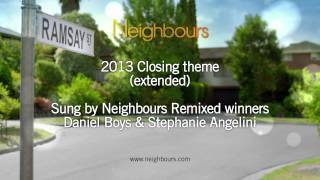 Neighbours new opening & extended closing theme 2013 - in HD