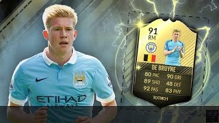 FUT 17 THIRD INFORM DE BRUYNE (91) REVIEW!! || JUST RELEASED TOTW 31 KEVIN DE BRUYNE!! WHAT A BEAST