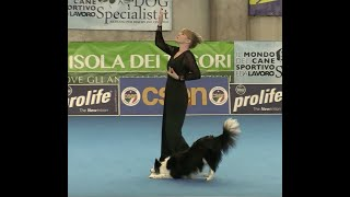 DOG DANCING EURÓPA BAJNOKSÁG Orsolya Kriz & Josephine  Dogdance European Championship 2019