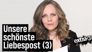 Sarah Bosetti liest Liebesbriefe an extra 3 (3)