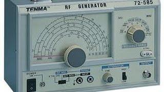 Tenma Signal Generator Mod and Demo