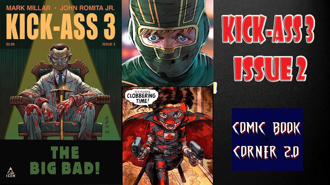 kick ass comic book issue kick ass comic books