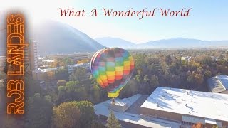 "Violinist in Hot Air Balloon Plays ""What A Wonderful World"" (Cover)"