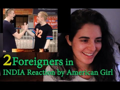 2 Foreigners In Bollywood Reaction Video   Colombian Lady