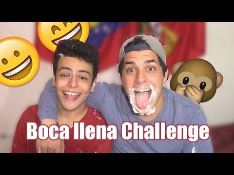 BOCA LLENA CHALLENGE CON YOUTUBERS | El Portu