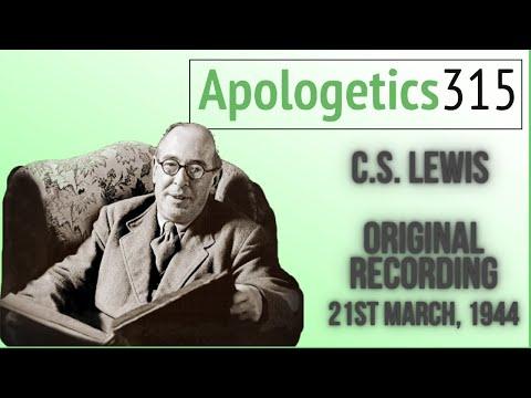 C.S. Lewis Original Recording