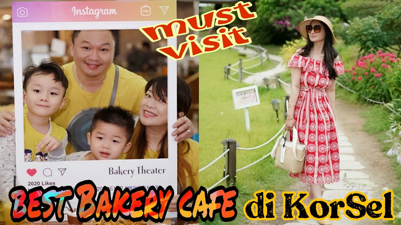 BEST CAFE DI KOREA SELATAN | BAKERY THEATER