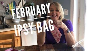 My February 2019 Ipsy Bag ...  LOL a little late ....