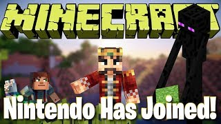 Nintendo Has Joined The Party!  -  [Minecraft Cross Platform Play!]