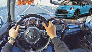 2019 Mini Cooper Hatch 1.5 L | Езда от первого лица | POV Test Drive #34