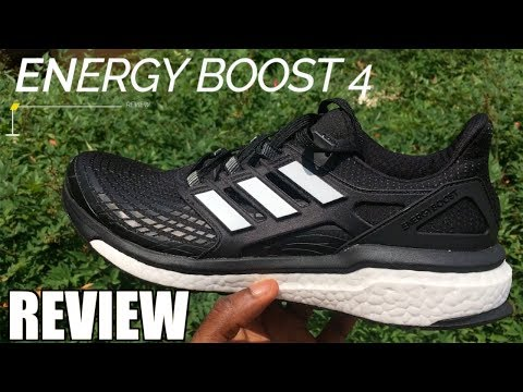 ADIDAS ENERGY BOOST 4.0  REVIEW 2017