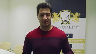 Emad Zareafifi. MSM Academy, Czech Language + Medicine, March 2018