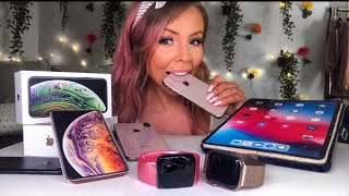 ASMR EDIBLE APPLE MAC PRODUCTS (FAKE) IPHONE X, IPAD, APPLE WATCH MUKBANG 먹방 EATING SHOW PRANK