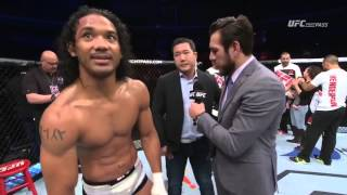 Fight Night Seoul: Benson Henderson and Jorge Masvidal Octagon Interview
