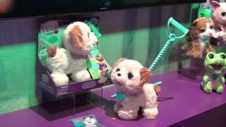 Toy Fair 2016: FurReal Friends Bootsie and Pax the pooping pup
