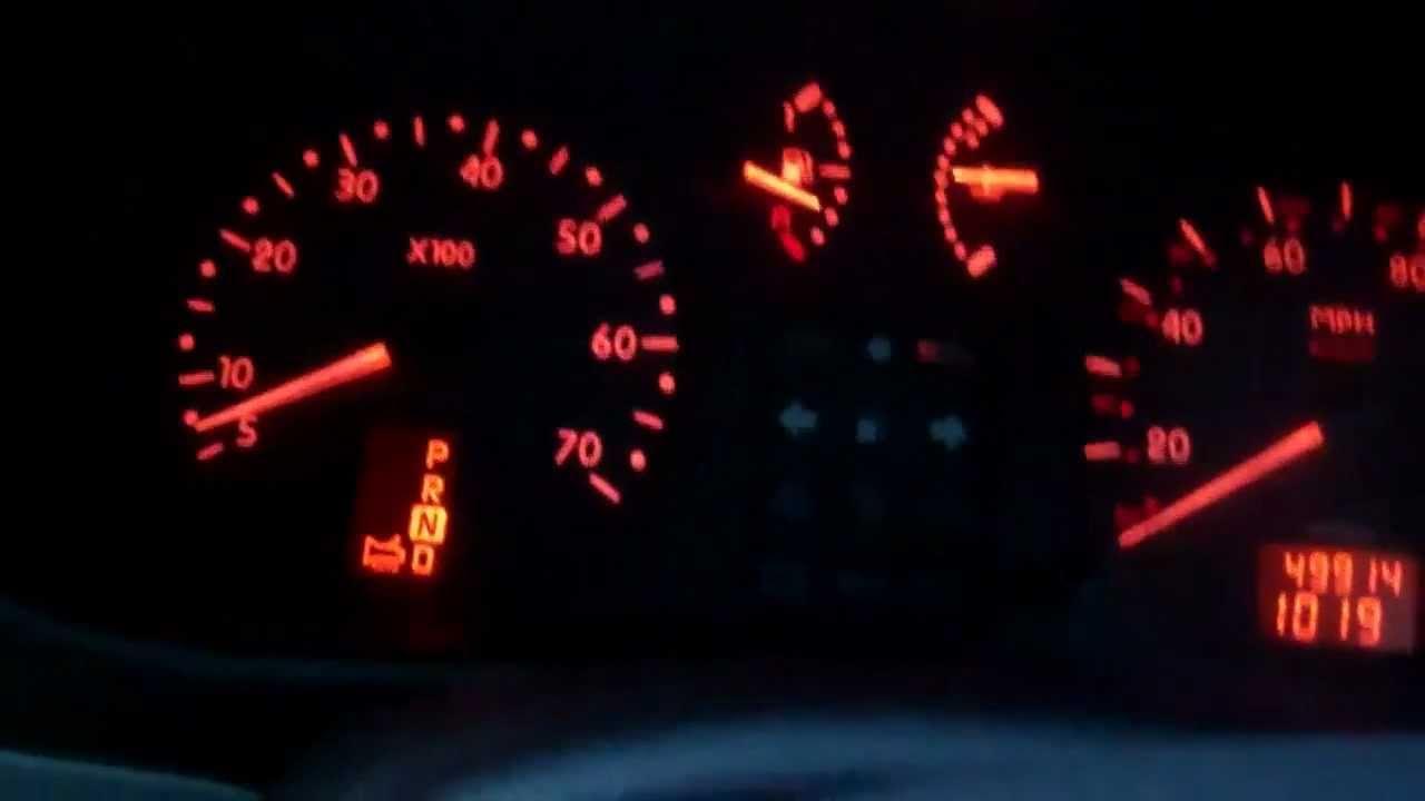 Renault Kangoo gearbox fault light