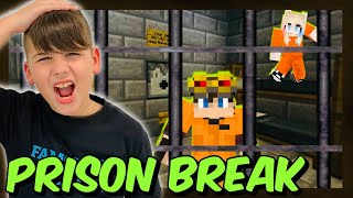 ΑΠΟΔΡΑΣΗ ΑΠΟ ΤΗΝ ΦΥΛΑΚΗ ΜΑΖΙ ΜΕ ΤΟ NOOBAKI PRISON BREAK MINECRAFT FAMOUS GAMES @Let's Play Kristina