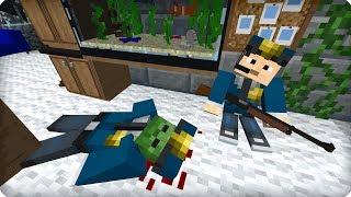 Полицейский участок! [ЧАСТЬ 21] Зомби апокалипсис в майнкрафт! - (Minecraft - Сериал)