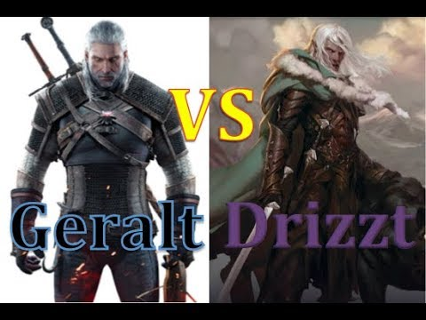 Geralt of Rivia VS Drizzt Do'Urden (Round 4 - Fight 2)