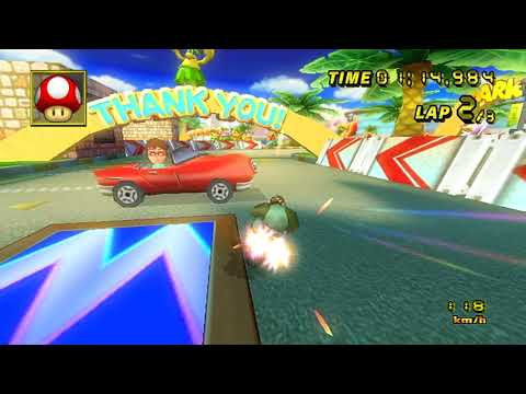 【MKW ER】 Coconut Mall - 1:56.383 - Ace (2nd Worldwide)