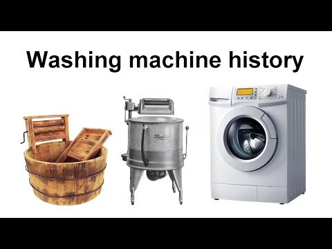 The History Of The Washing Machine