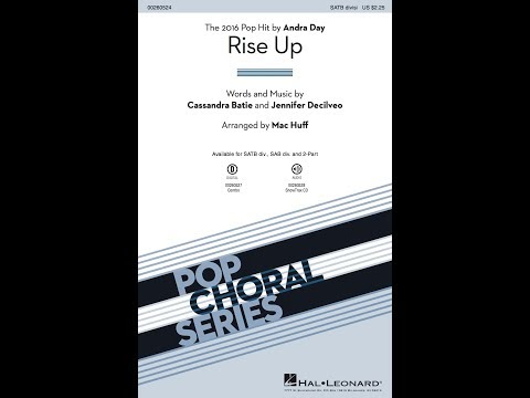 Rise Up (SATB divisi) - Arranged by Mac Huff
