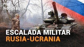 RUSIA envía 15 buques al MAR NEGRO y la OTAN pide que frene la tensión con UCRANIA | RTVE Noticias