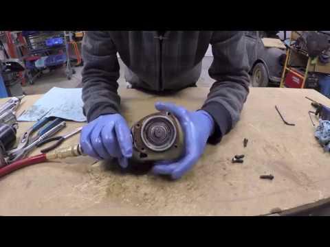 How An Air Tool Motor Works ( Air Vane Motors ) (Part 2 Of 2)