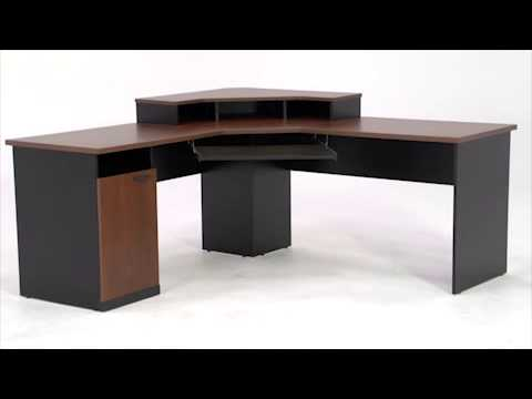 Corner Desk Bestar Hampton Collection National