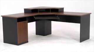 Corner Desk | Bestar Hampton Collection | National Business Furniture