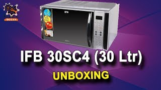 IFB 30 L Convection Microwave Oven 30SC4 Unboxing