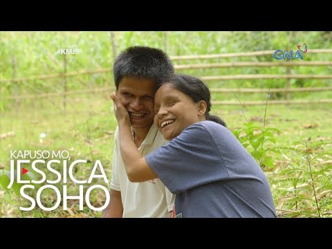 Kapuso Mo, Jessica Soho: Ang literal na 'love is blind' na love story nina Obet at Rowena