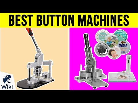 Top 8 Button Machines of 2019   Video Review