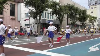 会津まつり2018 鼓笛隊パレード 日新小学校 00049